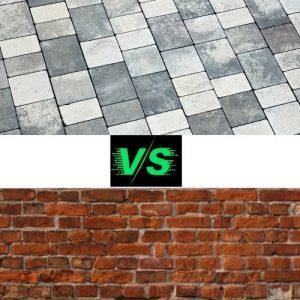 Paver vs Brick
