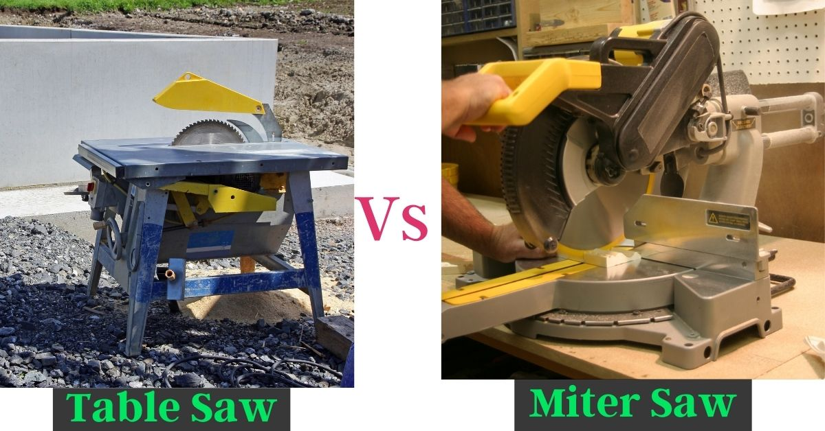 Should I Get A Table Saw Or Miter Saw First?