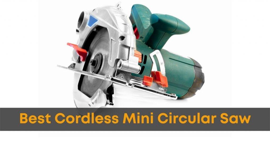 Cordless Mini Circular Saw